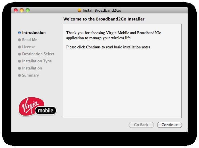 Broadband2Go Installer