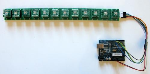 Strip and Arduino