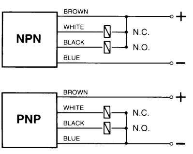 npn wiring diagram npn wiring diagrams pnp wiring diagram pnp auto wiring diagram schematic